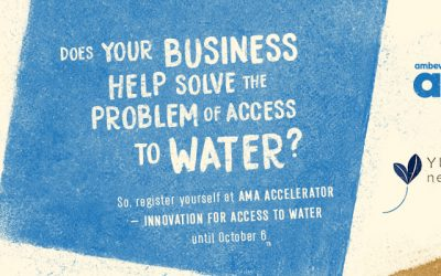 Sign up! AMA Water and Yunus Social Business Brazil are globally sourcing businesses that are focusing on solutions for access to water
