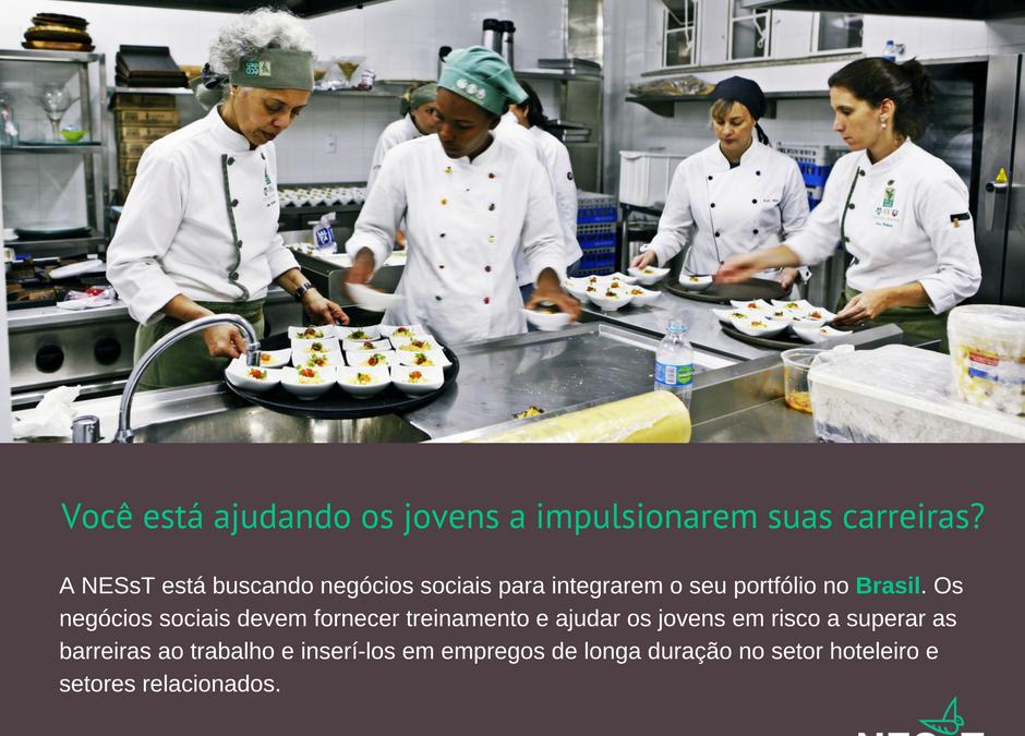 NESsT está buscando negócios para investir R$ 60mil