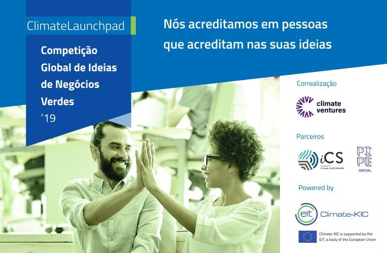 Competição Global de Ideias de Negócios Verdes recebe inscrições de soluções inovadoras que gerem impacto positivo pelo clima