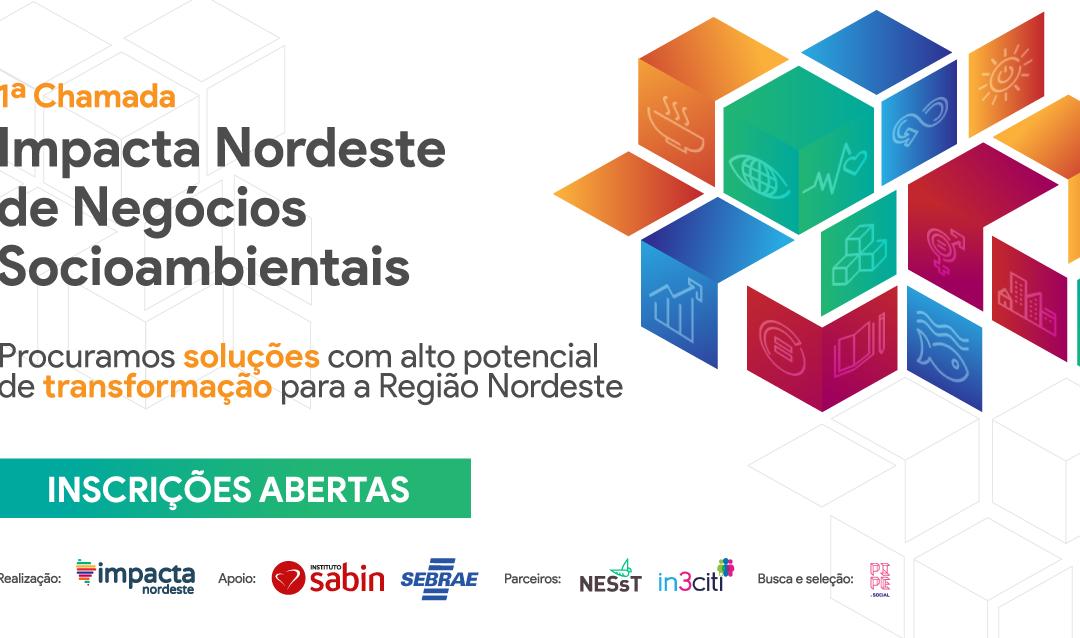 Chamada de negócios vai premiar iniciativas socioambientais com soluções  para a Região Nordeste